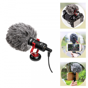 Boya Universal Cardioid Microphone (BY-MM1)