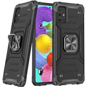 Samsung A51 Phone Case & Fashion Case Ring Bracket Cover