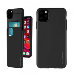 iPhone 11 Pro Max Mercury Sky Slide Bumper Hold Two Cards Back Case Cover