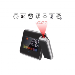 8190 Multi-Function Digital Projection LCD Clock