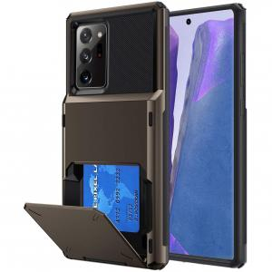 """Dikex Samsung Galaxy Note 20 Ultra 6.9"""" Four Cards Back Case Cover"""