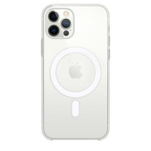 """iPhone 12 Pro Max 6.7"""" MagSafe Magnetic Clear Case"""