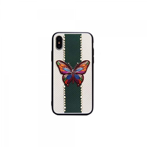 iPhone X/Xs -019 TOTU Butterfly love Series Back Case Cover