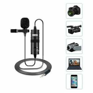 BOYA Lavalier Microphone Micro-Cravate (BY-M1)