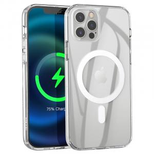 hoco. iPhone 12 Pro Max 6.7 Clear TPU Magnetic Protective Case