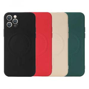 """j-Case iPhone 11 Pro Max 6.5"""" Magsafe Silicone Case"""