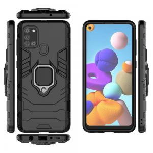Samsung A21S Phone Case & Fashion Case Ring Bracket Cover