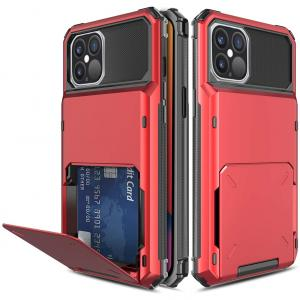 """Dikex iPhone 12 Pro Max 6.7"""" Four Cards Back Case Cover"""