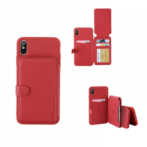 HDD iPhone Xs Max Wallet Bracket Business Wallet Case Cover